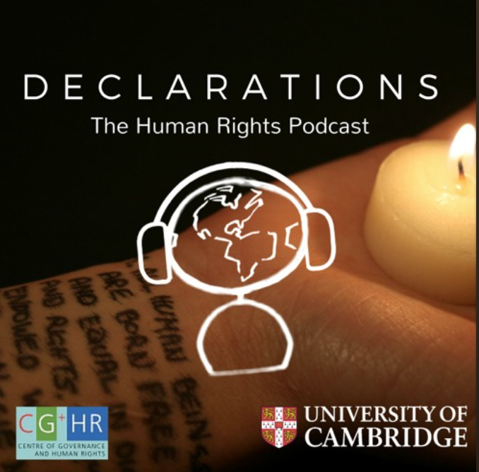 Interviewed by Declarations: The Human Rights Podcast