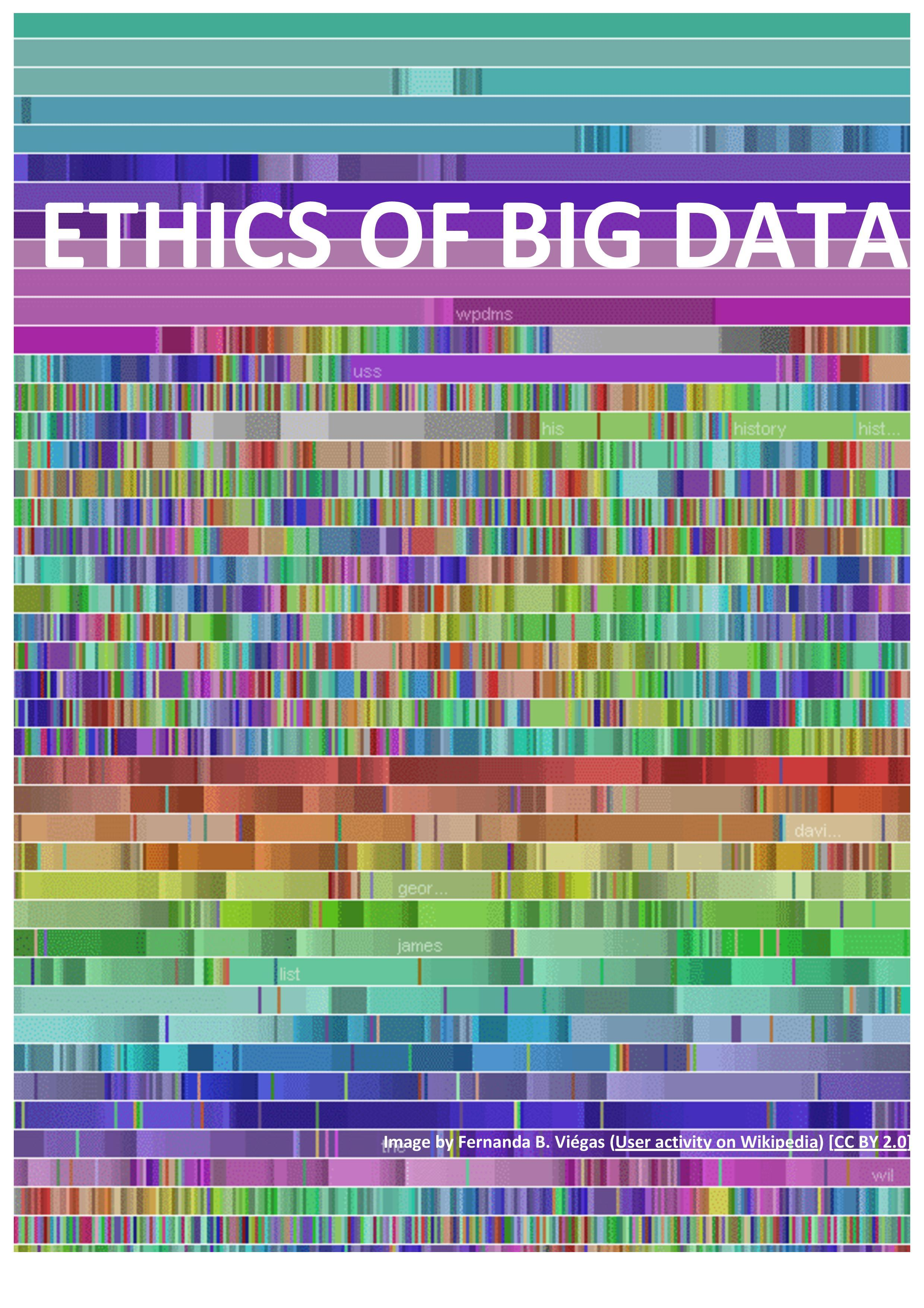 Ethics of Big Data group to explore 'Ethics of a Data-Driven Society' in 2016-17