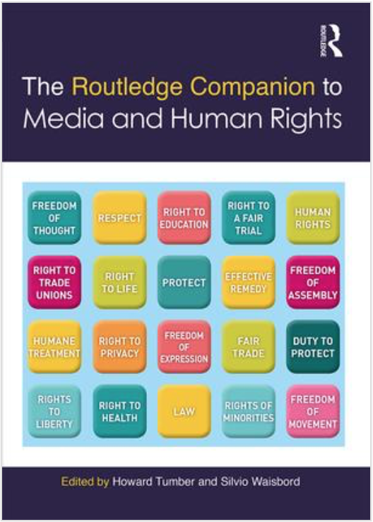 Chapter published on 'Social Media and Human Rights Advocacy'